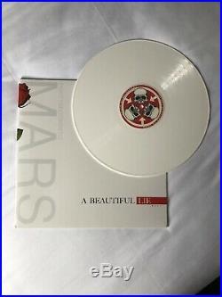30 Seconds To Mars A Beautiful Lie AUTOGRAPHED Rare White Vinyl Album