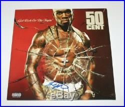 50 CENT SIGNED'GET RICH OR DIE TRYIN' ALBUM VINYL RECORD LP withCOA LEGEND EMINEM