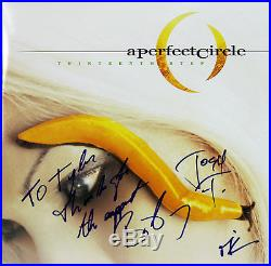 A Perfect Circle (3) Keenan, Howerdel & Freese Signed Album Cover With Vinyl BAS