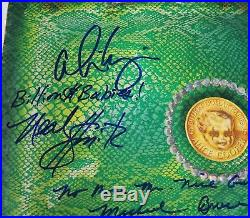 ALICE COOPER GROUP Signed Autograph Billion Dollar Babies Album Vinyl LP by 4