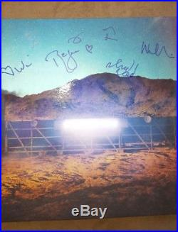 ARCADE FIRE SIGNED AUTOGRAPHED EVERYTHING NOW (NIGHT VISION) ALBUM VINYL LP wCOA