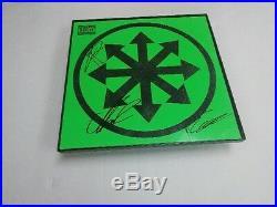 ATTILA Band SIGNED + FRAMED Chaos Vinyl Record Album
