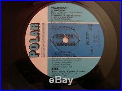 Abba Signed Autograph Autogramm Fully Lp Vinyl Album 1977 Waterloo Genuine