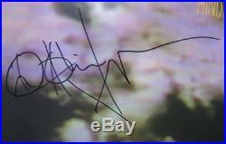 Al Jourgensen MINISTRY Signed Autograph The Land Of Rape Honey Album Vinyl LP