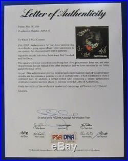 Avett Brothers +2 Band Signed Emotionalism LP Vinyl Album PSA/DNA AB00878