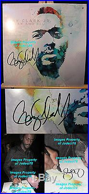 BLACK & BLU Gary Clark Jr Signed Vinyl Album LP EXACT Proof COA