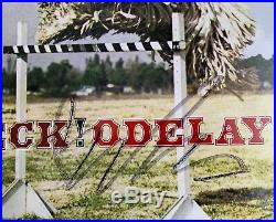 Beck Hansen Odelay Hand Signed Autographed Very Rare Blue Vinyl Lp Album