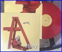 Billie Eilish SIGNED Autographed Album Vinyl Dont Smile At Me Red Lp