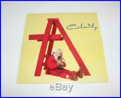 Billie Eilish Signed Don't Smile At Me Vinyl Album Record Lp Beckett Coa Proof