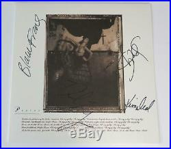 Black Francis PIXIES Signed Autograph Surfer Rosa Album Vinyl LP by All 4