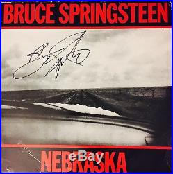 Bruce Springsteen E Street Signed Autograhed Nebraska Vinyl Album Photo Proof