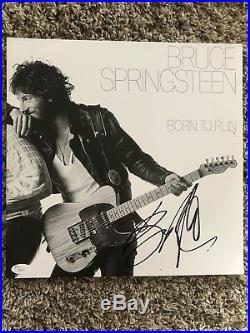 Bruce Springsteen Signed Born To Run Album Vinyl JSA LOA The Boss Legend RARE