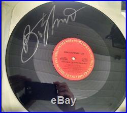 Bruce Springsteen autographed signed album vinyl