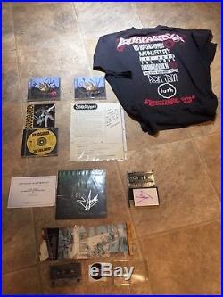 Chris Cornell Signed CDs Cassettes Vinyl Album Bands 8 items Letters Rare