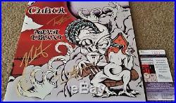 Clutch Signed Vinyl Lp Record Album Blast Tyrant Jsa Coa Neil Fallon