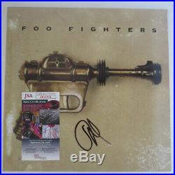 Dave Grohl Foo Fighters Signed Album Lp 12 Vinyl Jsa