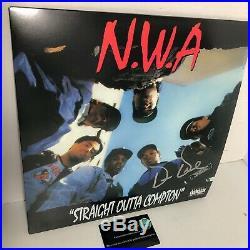 Dr. Dre Signed Autograph NWA Straight Outta Compton LP Vinyl Record Album