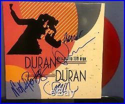 Duran Duran signed Girls on Film 12 vinyl album lp
