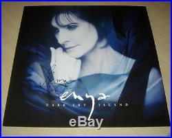 ENYA. Dark Sky Island Vinyl Album SIGNED (Rare)