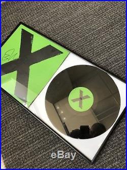 Ed Sheeran Signed Vinyl Record Multiply Album