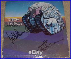 Emerson, Lake & Palmer Authentic Signed Record Album Vinyl LP Autographed