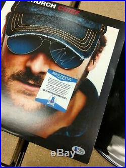 Eric Church Autographed Chief Vinyl Album Bas Certified Beckett Authentic Signed