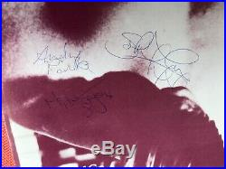 Extremely rare fully autographed The Smiths first album vinyl, first pressing