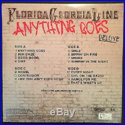 Florida Georgia Line Signed Autograph JSA Album Record Vinyl Anything Goes