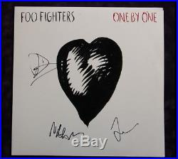 GFA The Foo Fighters DAVE GROHL Band Signed Vinyl Record Album AD3 PROOF COA
