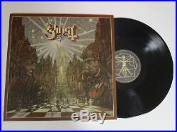 GHOST BC PAPA EMERITUS AUTOGRAPHED SIGNED VINYL ALBUM 1 With SIGNING PICTURE PROOF