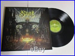 GHOST BC PAPA EMERITUS AUTOGRAPHED SIGNED VINYL ALBUM 2 With SIGNING PICTURE PROOF