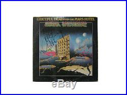 GRATEFUL DEAD signed lp vinyl album FROM THE MARS HOTEL JERRY GARCIA cover only
