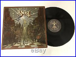 Ghost Bc Band Papa Emeritus Autographed Signed Vinyl Album 3 With Signing Proof