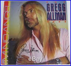 Gregg Allman ALLMAN BROTHERS BAND Signed Autograph I'm No Angel Album Vinyl LP