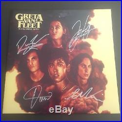 Greta Van Fleet SIGNED Black Smoke Rising EP LP Album Vinyl PROOF
