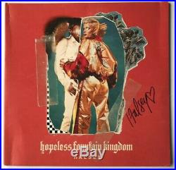 Halsey Signed Album Hopeless Fountain Kingdom LP Vinyl Record JSA #DD02626 Auto