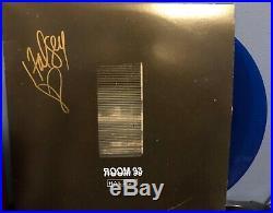 Halsey signed Room 93 12 album lp BLUE VINYL