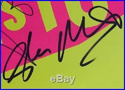 Hand Signed SEX PISTOLS x3 Never Mind The Bollocks ROTTEN Vinyl Album + my COA