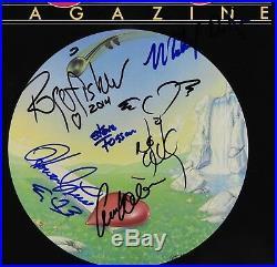 Heart Band Ann & Nancy Wilson JSA Magazine Signed Autograph Record Album Vinyl