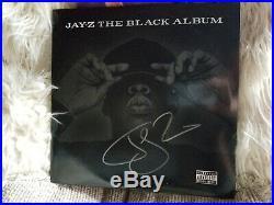 JAY-Z The Black Album. Autographed RARE! Double Vinyl Excellent condition
