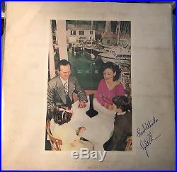 JOHN BONHAM signed Led Zeppelin Presence ALBUM LP vinyl AUTOGRAPH rare rock
