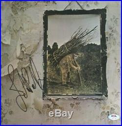 JOHN PAUL JONES Signed Autograph LED ZEPPELIN STAIRWAY Vinyl Record Album PSA