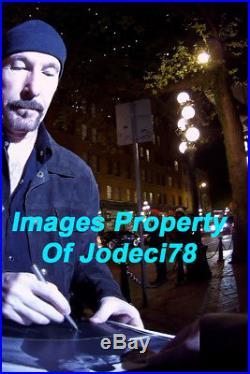 JOSHUA TREE Bono Edge & Adam Clayton Signed U2 Vinyl Album EXACT PROOF JSA COA