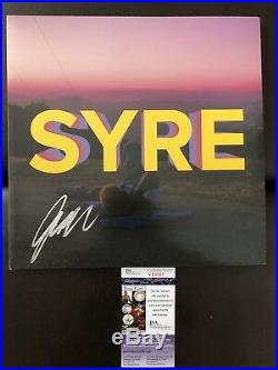 Jaden Smith Signed First Vinyl Album Syre Bas Beckett Coa Auto 1 Icon Will