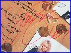 Jani Lane WARRANT Signed Autograph Dirty Rotten Filthy Album Vinyl LP by All 5