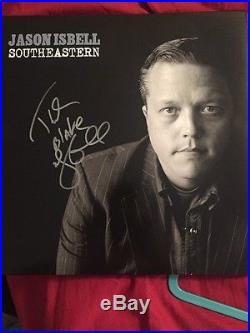 Jason Isbell Signed Autograph Southeastern Vinyl Record Album Drive By Truckers
