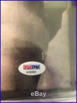 Jay-z Signed Magna Carta Holy Grail Vinyl Album Framed Psa/dna Coa