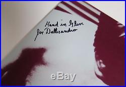 Joe Dallesandro THE SMITHS Signed Autograph The Smiths S/T Album Vinyl LP