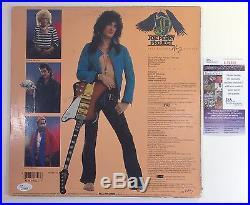 Joe Perry Project Aerosmith Signed Autographed Solo Vinyl Album JSA COA