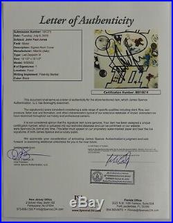 John Paul Jones JSA Signed Autograph Record Led Zeppelin III Album Vinyl Record